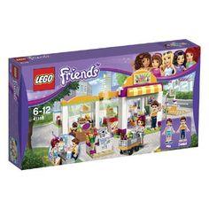 LEGO Friends Heartlake supermarkt 41118  Bouw met de 313 stenen van LEGO Friends de goed gesorteerde Heartlake-supermarkt. In deze supermarkt kun je echt van alles halen! LEGO-nr. 41118  EUR 32.99  Meer informatie
