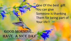Kavithaigal Ulagam: Good Morning Quotes