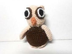 Baby Owl Miniature by KnitAndCrochetPalace for $15.00