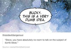 Steve is the king of dumb ideas.