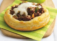 Recipe is sloppy joe biscuit rounds, but I'm going to try it with taco meat...