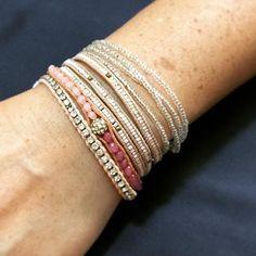 Bracelet de cheville multicouche pour femme en alliage de m/étal g/éom/étrique rond