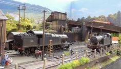 My OO finescale Micro layout based on Abercynon South Wales UK Wales Uk, South Wales, Map Pictures, Model Train Layouts, Thomas And Friends, Train Set, Model Trains, Abandoned, Scenery