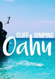 5 of the best spots for cliff jumping Oahu. Waimea Bay, China Walls, Maunawili Falls, and others. Adventure log from Stone Broke Hawaii Blog.