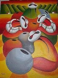 Imagen relacionada Cuban Art, Mexican Art, Peruvian Art, Pencil Painting, Southwest Art, Quilling Art, Graphic Patterns, Folk Art, Modern Art