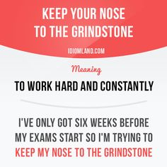 Do you keep your nose to the grindstone? -         Repinned by Chesapeake College Adult Ed. We offer free classes on the Eastern Shore of MD to help you earn your GED - H.S. Diploma or Learn English (ESL) .   For GED classes contact Danielle Thomas 410-829-6043 dthomas@chesapeke.edu  For ESL classes contact Karen Luceti - 410-443-1163  Kluceti@chesapeake.edu .  www.chesapeake.edu