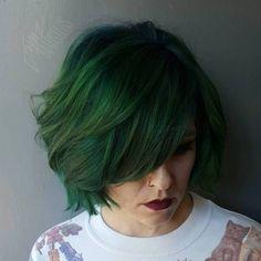 Green+Bob+With+Bangs