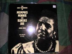 Memphis Minnie & Kansas Joe- Black Cat Blues (Vinyl LP)