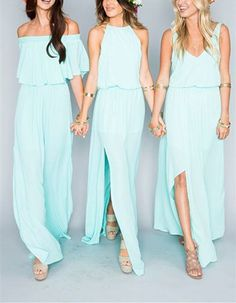 Mint Long Bridesmaid Dress,Chiffon Bridesmaid Dress,Mismatched Bridesmaid Dress,Cheap Bridesmaid Dress,Custom Made Bridesmaid Dress sold by LovePromDresses. Shop more products from LovePromDresses on Storenvy, the home of independent small businesses all over the world.