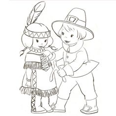 Thanksgiving Scenes Coloring Page | Thanksgiving color ...