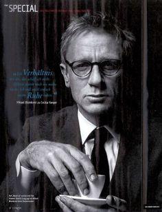 Daniel Craig as Mikael Blomkvist, fictional Swedish journalist from Stieg Larsson's Millennium trilogy.