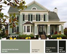 Exterior Paint Combinations For Homes Fine Exterior House Paints On Pinterest Exterior House Paint Colors Best Concept