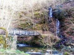 Moulin de Terral, Aveyron : passerelle