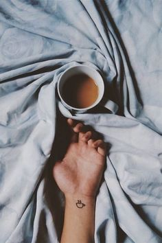 do you love coffee??? These people love it so much they tattooed it on themselves!! see more coffee tattoos here! #coffee #tattoo #morning #fall
