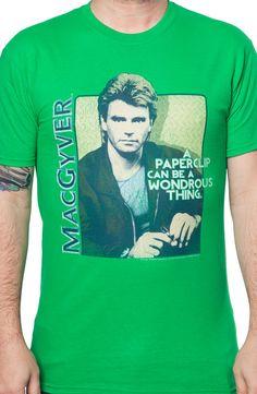 MacGyver Paperclip T-Shirt