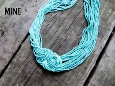 DIY Knot Necklace Tutorial