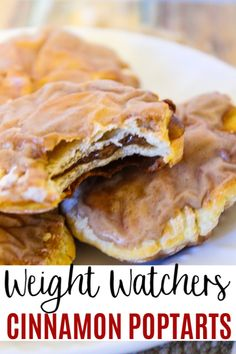 Cinnamon Poptarts These Weight Watchers Cinnamon Poptarts are made with 2 ingredient dough and are delicious! A great WW breakfast idea if you are craving poptarts.These Weight Watchers Cinnamon Poptarts are made with 2 ingredient dough and are delicious! Ww Desserts, Healthy Desserts, Healthy Recipes, Weight Watchers Snacks, Weight Watchers Breakfast, Ww Recipes, Cooking Recipes, Free Recipes, Clean Eating Snacks