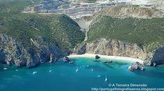 A Terceira Dimensão - Fotografia Aérea: Praia da Ribeira do Cavalo