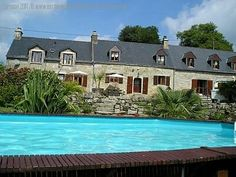Stunning 9 Bed gite complex with pool, For Sale Properties for sale in France by English speaking estate agents and private sellers. Find your perfect house in France. Flag Stone, Houses In France, Stone Cottages, French Property, Kids Play Area, Property For Sale, Countryside, Fields, Larger