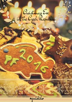 Christmas Eve in the Czech Republic by Guidilo Stuff To Do, Things To Do, Prague Travel, Czech Republic, Christmas Eve, Gingerbread Cookies, Traditional, Things To Make, Gingerbread Cupcakes