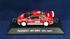 CM S RALLY CAR COLLECTION | JAPAN | PEUGEOT 307 WRC 2005 | 1/64 | GRONHOLM
