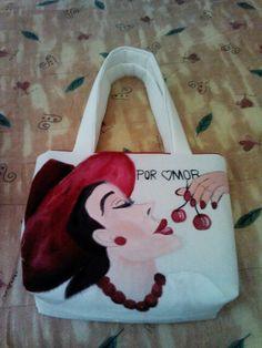 Bolsa de manta bondeada para un regalo por amor.