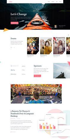 Design presentation event Ideas for 2019 Website Design Inspiration, Best Website Design, Website Design Layout, Homepage Design, Website Design Company, Web Layout, Layout Design, Travel Website Design, Newsletter Design