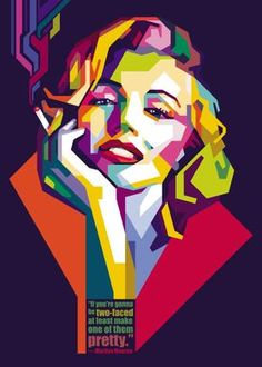Pop Art Portraits, Portrait Art, Marilyn Pop Art, Marilyn Monroe Pop Art, Sketch Manga, Pop Art Images, Foto Fashion, Art Anime, Illustration Art