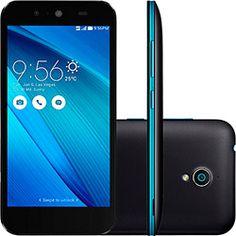 Smartphone Asus Live Dual Chip Desbloqueado Android 5 Tela 5 16GB 3G 8MP e  TV Digital - Preto