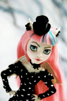 OOAK custom Monster High Doll Rochelle Goyle by SkulletteDolls