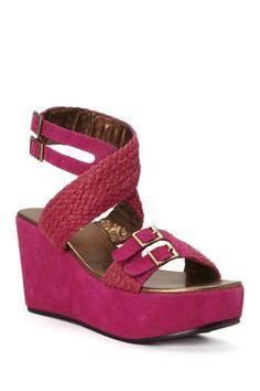 Nako Flatform Sandal