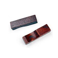 Set mit 4 Holz Essstäbchenablage Löffel Gabel Besteck-Halter, Rechteckmuster - http://besteckkaufen.com/blancho/set-mit-4-holz-essstaebchenablage-loeffel-gabel
