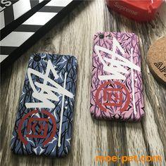 ストリートブランドSTUSSY ストゥーシー&CLOT iPhone7/7s/8plusケース