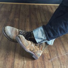 Red Wing Shoes Owners Club | mycultizm: Worn for years! Red Wing's Iron...
