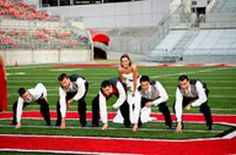 i feel like this will be my brothers wedding someday. O-H-I-O