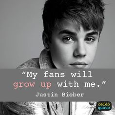 justin bieber I will and I am and I have since your first song. I'm a true belieber <3