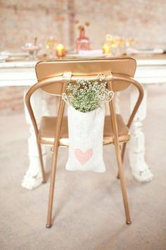 Gold Wedding Chair.