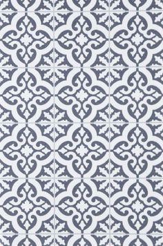 Tapet Marockanskt kakel, Rachel grö, nonwoven material, Ellos