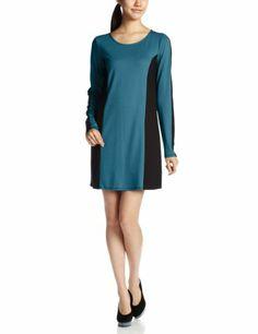 Amazon.co.jp: (ジョルダーノ)GIORDANO WスムースブロッキングワンピA(サイドブロッキング): 服&ファッション小物
