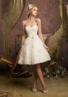Abiti sposa corti Mori Lee 2013 Bridal Collection [Foto]