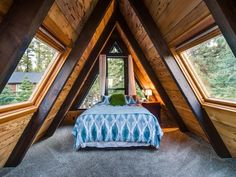 Cabins on cabins on cabins! If you have a little bit of cabin fever, we suggest trying one out on your next trip, or at least browsing these trendy and cool cabins to spark your wanderlust! Whether you're looking for a romantic getaway for two or a three-day-weekend escape, these A-frame cab