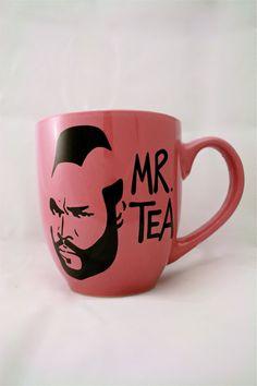 Mr T Tea Mug Pink