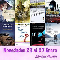 Con el alma prendida a los libros: Novedades: 23 al 27 de enero