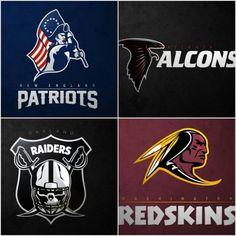ALL 32 NFL Team logos reimagined