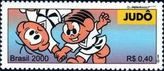 Sello: Judo (Brasil) (Olympic Games) Mi:BR 3069,Yt:BR 2612,RHM:BR C-2311