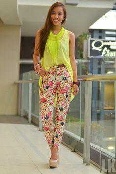 floral pants ☆