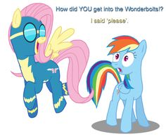 Wonderbolt Fluttershy (She said please lolz)