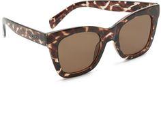 Tortoise sunglasses / brown sunglasses / oversized sunglasses / #affiliatelink
