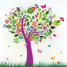 14 Abstract Tree Vector Images - Abstract Tree Vector Free, Abstract Tree Vector Illustration and Tree-Vector-Illustration Tree Patterns, Flower Patterns, Flower Designs, Butterfly Tree, Flower Tree, Cute Black Cats, Colorful Trees, Free Vector Graphics, Vector Clipart