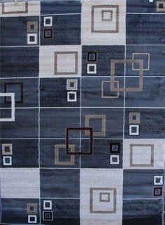 3035 Gray Beige Gray Black 5'2 x 7'2 Modern Abstract Area Rug Carpet Persian-Rugs http://www.amazon.com/dp/B00F2549PK/ref=cm_sw_r_pi_dp_fMBMub100PE3K